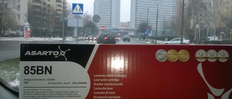 CE285a zamiennik dostarczony do biura w Krakowie